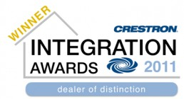 Crestron Integration Award 2011