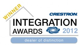 Crestron Integration Award 2012
