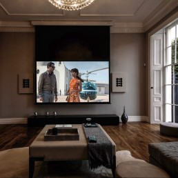custom built home cinema
