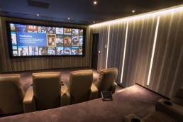 purpose built home cinema